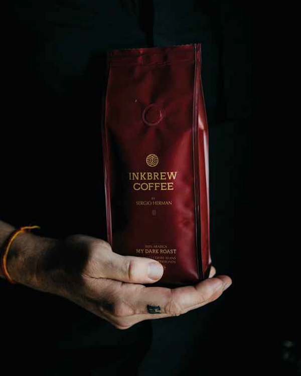 Inkbrew Dark Roast Coffee by Sergio Herman (250gr gemalen)