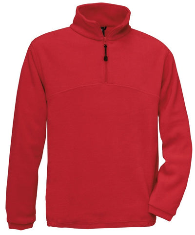502BA Mens QTR Zip Fleece Highlander+