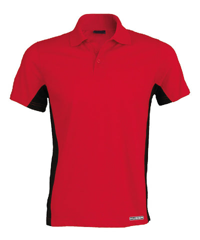 232KB Short sleeve bi-colour polo shirt
