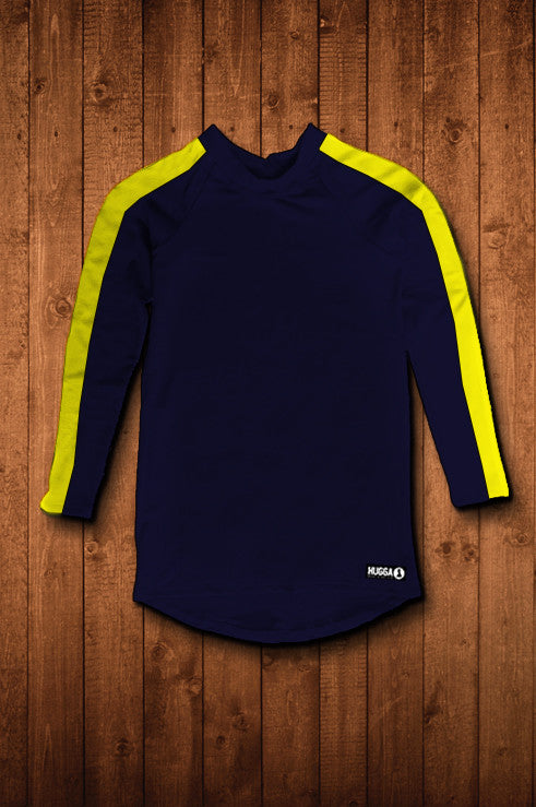 PENGWERN BC LS COMPRESSION TOP (NAVY)