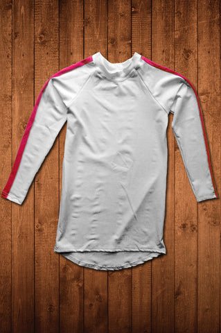 TwRC LS COMPRESSION TOP (WHITE)
