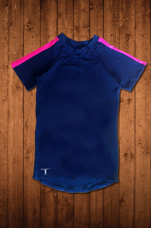 TwRC SS Compression Top (DARK BLUE) - HUGGA Rowing Kit