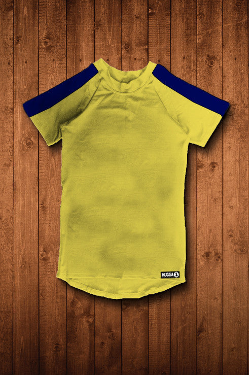 PENGWERN BC SS Compression Top (YELLOW)