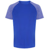 018 contrast sleeve performance t-shirt