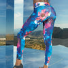 036 Performance flower leggings full-length