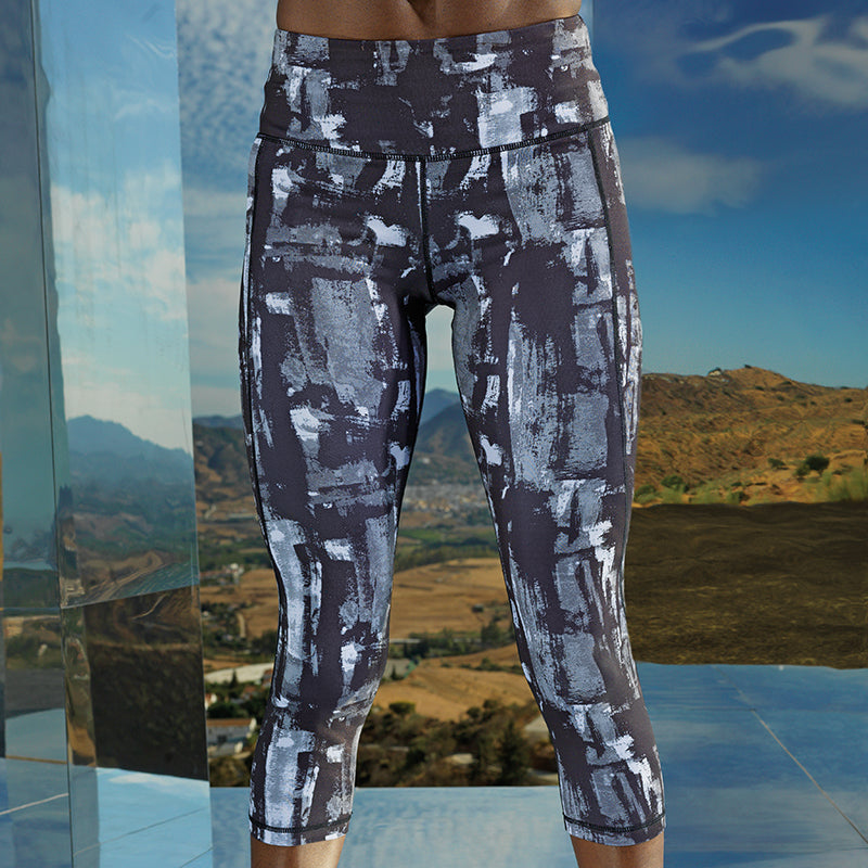 300 Performance sunset leggings ¾ length