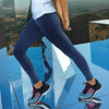 305 Seamless '3D fit' multi-sport denim look leggings