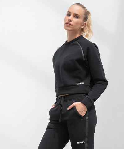 533TL Women's cropped sweatshirt