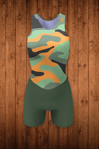 CAMO-FLOW ROWING SUIT