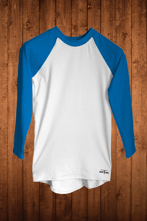 HUGGA LS COMPRESSION TOP - BLUE - HUGGA Rowing Kit