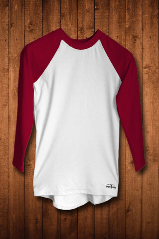 HUGGA LS COMPRESSION TOP - MAROON