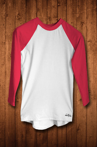 HUGGA LS COMPRESSION TOP - BRITISH RED