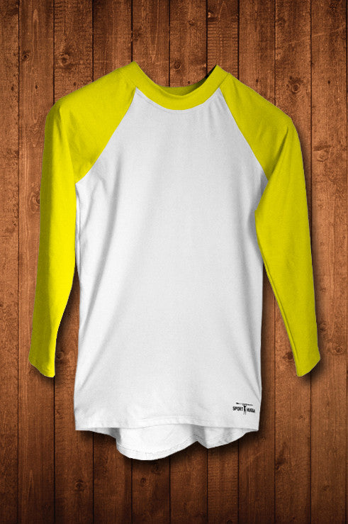 HUGGA LS COMPRESSION TOP - YELLOW - HUGGA Rowing Kit