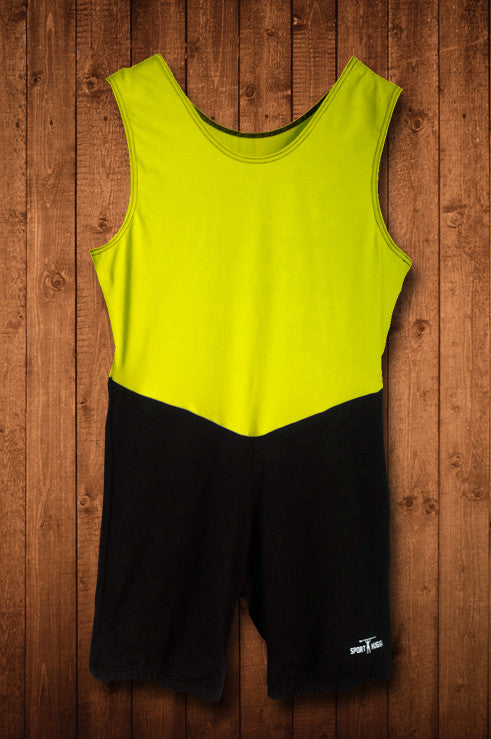 HUGGA ELITE ROWING SUIT - YELLOW & BLACK - HUGGA Rowing Kit