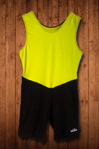HUGGA ELITE ROWING SUIT - YELLOW & BLACK