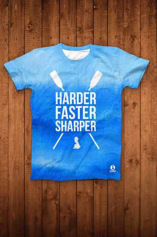 HARDER FASTER SHARPER TEE