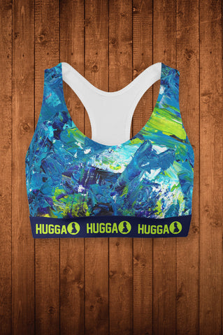 HIT-FLOW SPORTS BRA-TOP
