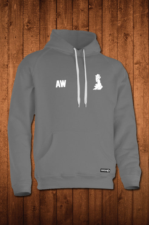 HUGGA HOODY - GREY - HUGGA Rowing Kit