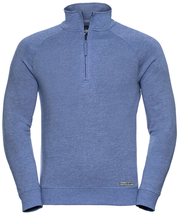 282JM HD Slim Fit ¼ zip sweatshirt