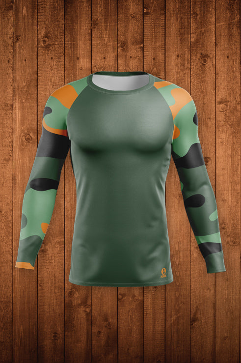 CAMO-FLOW LS COMPRESSION TOP