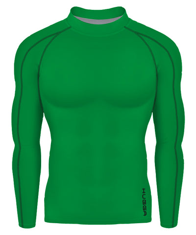 hx contrast stitch base layer top