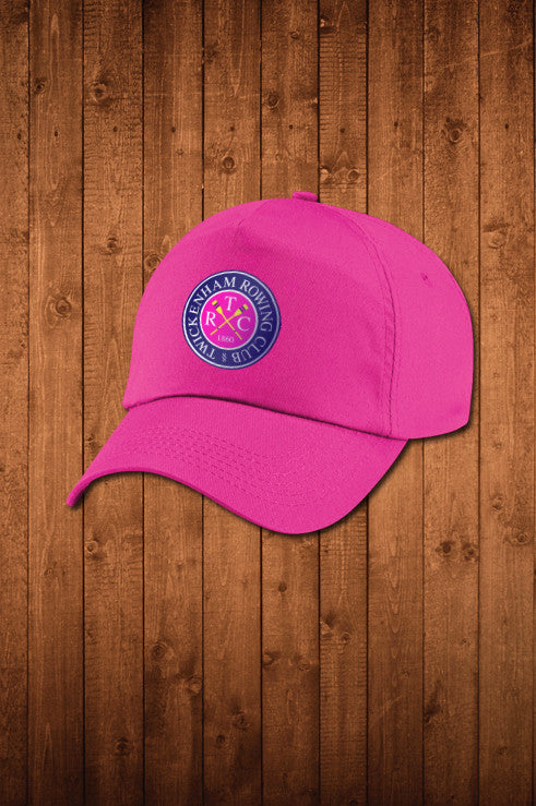 TwRC Pink Sports Cap - HUGGA Rowing Kit