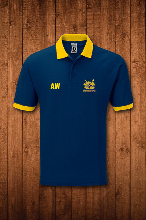 PETERBOROUGH CITY RC POLO SHIRT - HUGGA Rowing Kit
