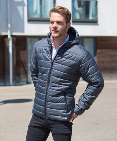 233RM Soft Showerproof padded jacket