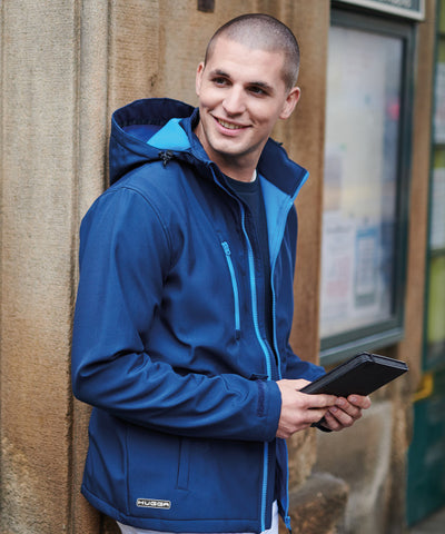 152RG Venturer 3-layer hooded softshell jacket