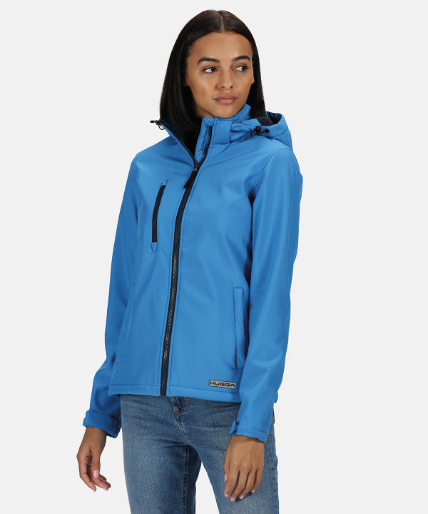 153RG Women's venturer 3-layer hooded softshell jacket