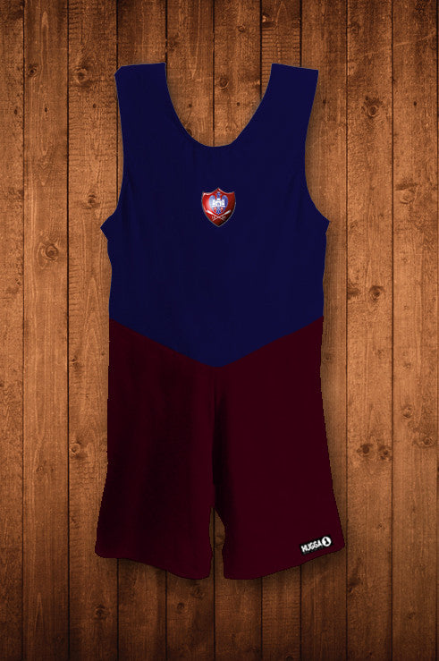 Bedford Rowing Club TRAINING Rowing Suit - HUGGA Rowing Kit