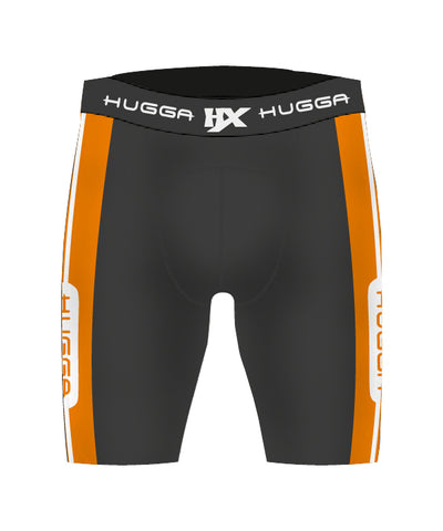 CONTRAST PANEL COMPRESSION SHORTS