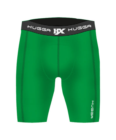 CONTRAST STITCH COMPRESSION SHORTS