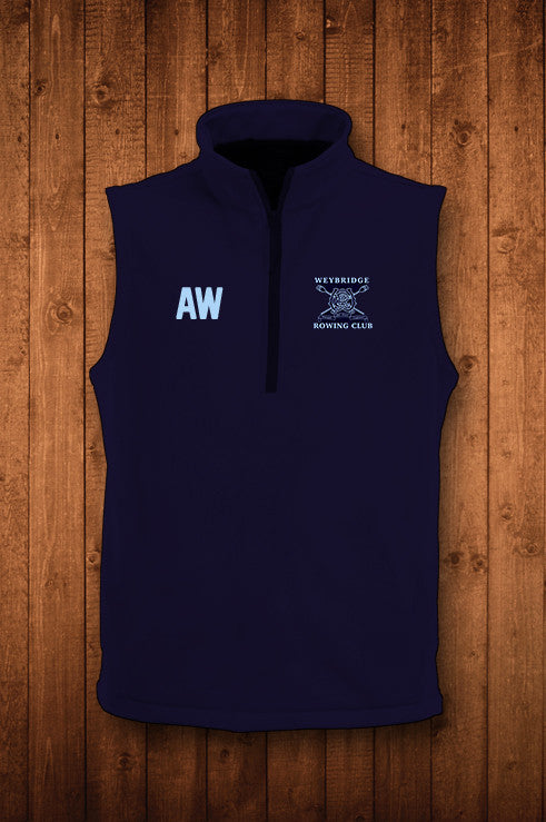 Weybridge RC Gilet - HUGGA Rowing Kit