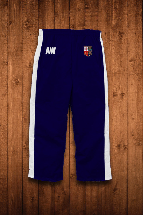 LONDON ROWING CLUB WATERBLOCK TRACK PANTS - HUGGA Rowing Kit