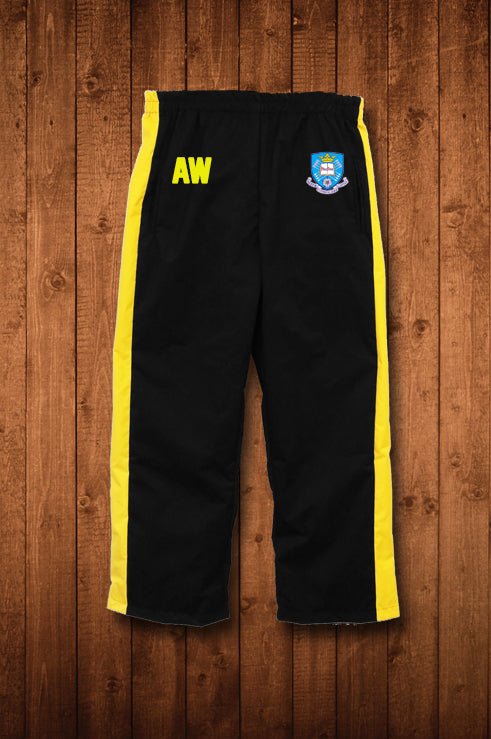 UNIVERSITY OF SHEFFIELD WATERBLOCK TRACK PANTS