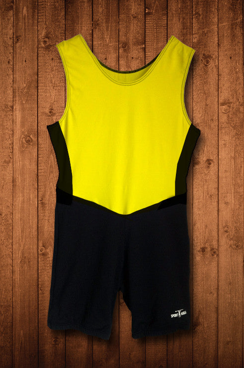 HSBC YELLOW ROWING SUIT - HUGGA Rowing Kit