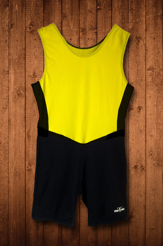 HSBC YELLOW ROWING SUIT