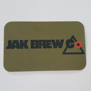 Jak Brew Co. Banner Sticker