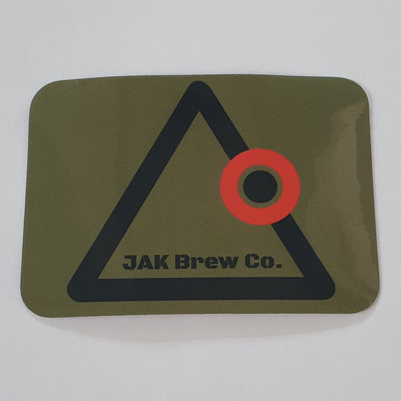 JAK BREW Co. Sticker