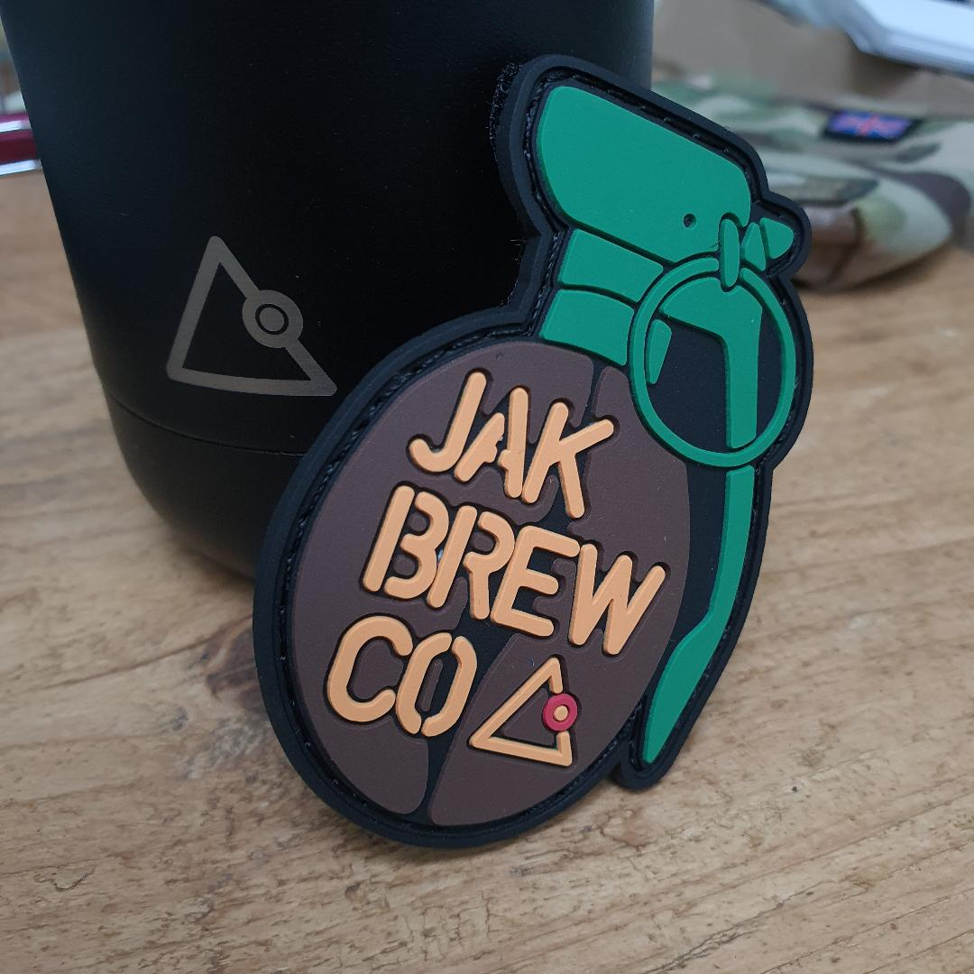 JAK Brew Co. Velcro PVC Patch