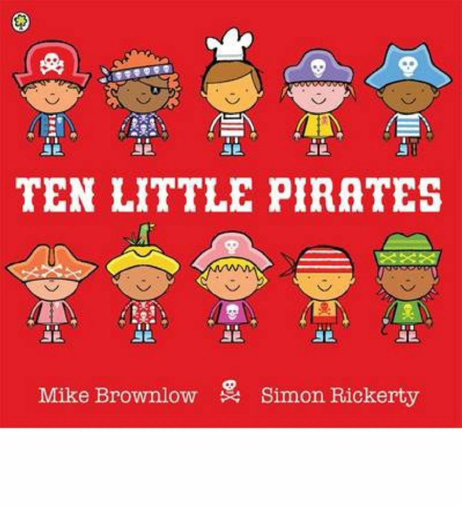 Ten Little Pirates (Hardback)