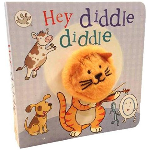 Little Learners : Hey Diddle Diddle (Finger Puppet Books)
