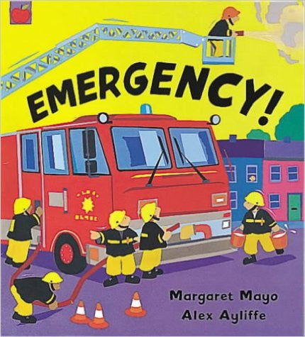 Awesome Engines : Emergency! (Board book)