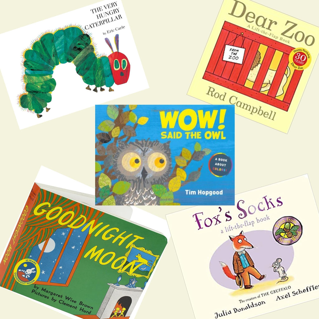 5 Board Book Bundle