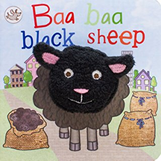 Little Learners : Baa Baa Black Sheep (Finger Puppet Books)