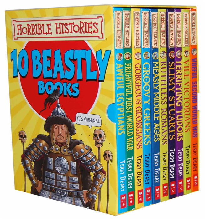 Horrible Histories - Ten Beastly Books
