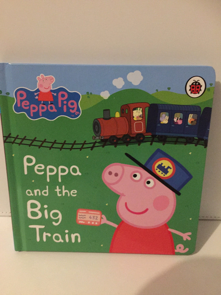 Peppa and the Big Train (Board book)