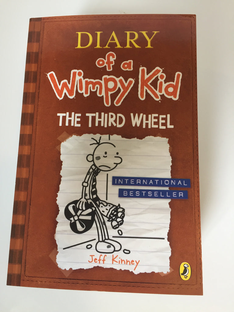 Diary of a wimpy kid book wise the third wheel diary of a wimpy kid book 7 solutioingenieria Gallery