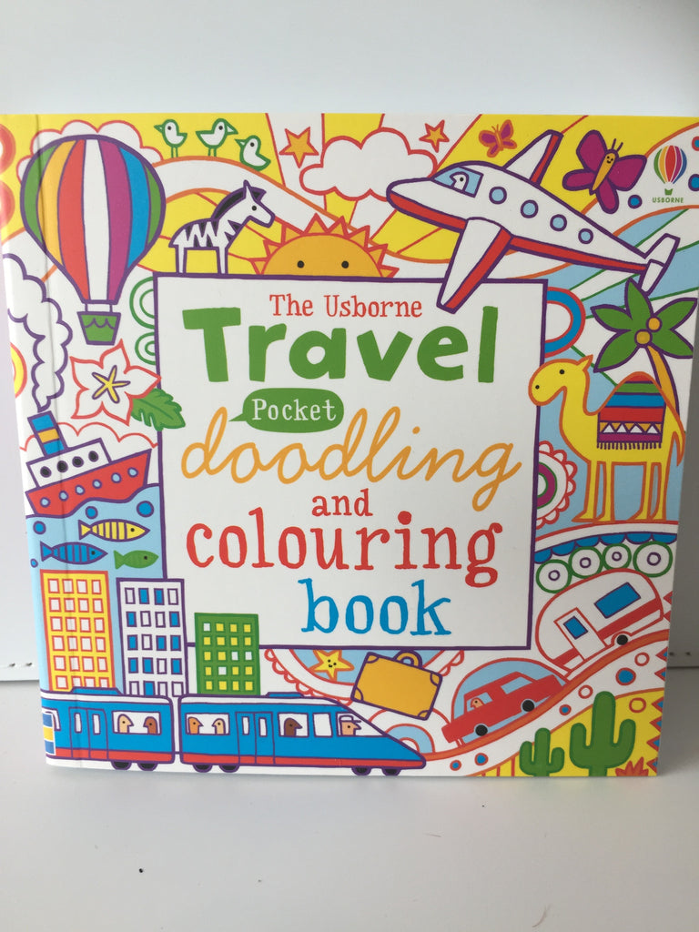 The Usborne Travel Pocket Doodling and Colouring Book